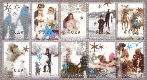 [December Stamps, Typ ]