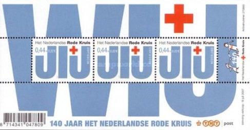 [The 140th Anniversary of the Red Cross Netherlands, Typ ]
