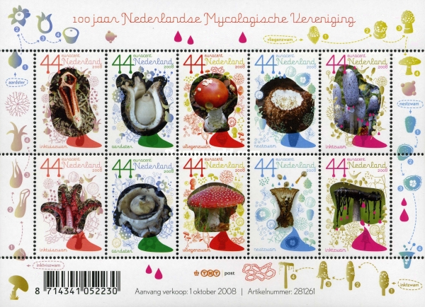 [Fungi - The 100th Anniversary of the Netherlands' Mycological Society, Typ ]