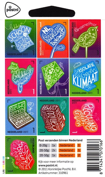 [Green Initiatives - Self Adhesive Stamps, Typ ]