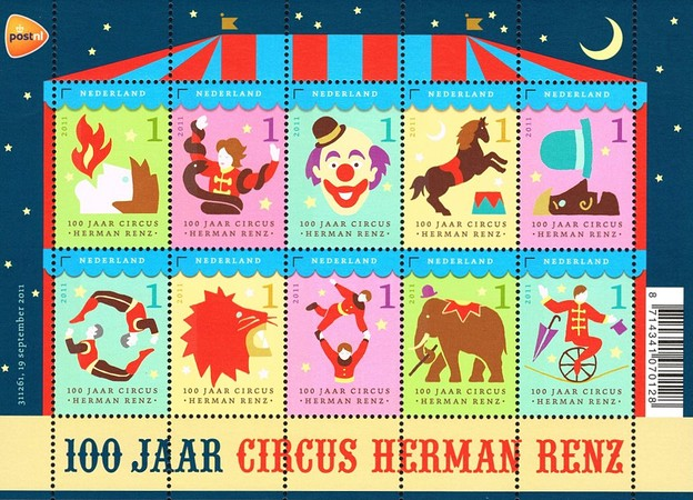 [The 100th Anniversary of Circus Renz, Typ ]