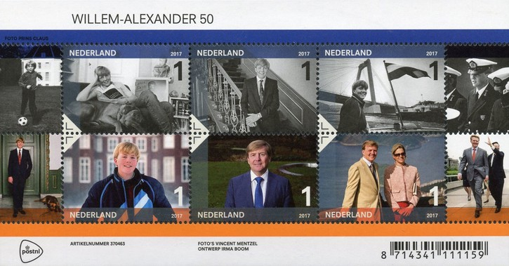 [The 50th Anniversary of the Birth of King Willem-Alexander, type ]