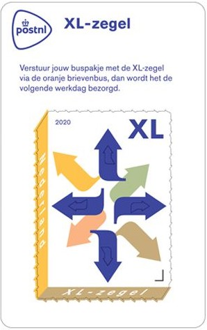 [XL Stamp for Parcels, type ]