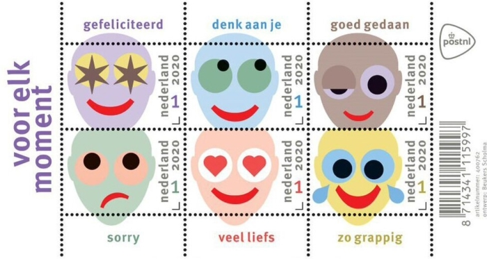 [Greetings Stamps - For Every Moment, type ]