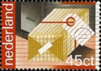 [The 100th Anniversary of the Postal and Telegraph Services, type ACN]