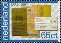 [The 100th Anniversary of the Postal and Telegraph Services, type ACP]