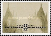 [The 50th Anniversary of the German Bombardment of Rotterdam, type AJK]