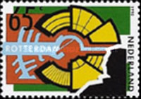 [The 50th Anniversary of the German Bombardment of Rotterdam, type AJL]