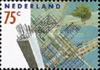 [The 50th Anniversary of the German Bombardment of Rotterdam, type AJM]