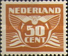 [Numeral Stamps, Typ AK24]