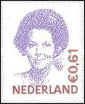 [Queen Beatrix - Self-Adhesive, Typ AKD33]