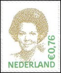 [Queen Beatrix - Self-Adhesive, Typ AKD34]