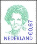 [Queen Beatrix - Self-Ahesive, Typ AKD37]