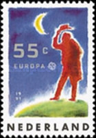 [EUROPA Stamps - European Aerospace, Typ AKK]