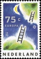 [EUROPA Stamps - European Aerospace, Typ AKL]