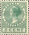 [Queen Wilhelmina - New Values and Colors - Watermarked, Typ AL14]
