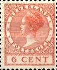 [Queen Wilhelmina - New Values and Colors - Watermarked, Typ AL15]