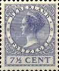 [Queen Wilhelmina - New Values and Colors - Watermarked, type AL16]
