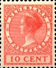 [Queen Wilhelmina - New Values and Colors - Watermarked, type AL18]