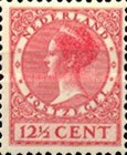 [Queen Wilhelmina - New Values and Colors - Watermarked, type AL19]