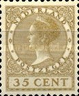[Queen Wilhelmina - New Values and Colors - Watermarked, type AL25]