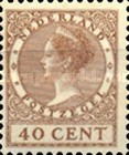 [Queen Wilhelmina - New Values and Colors - Watermarked, type AL26]