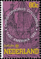 [EUROPA Stamps - Voyages of Discovery in America, type ALL]
