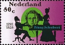 [The 200th Anniversary of the Birth of Franz Shubert - Composer, Typ ASE]