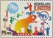 [EUROPA Stamps - The Circus, Typ BFB]