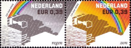 [The 150th Anniversary of the Royal Netherlands Meteorological Institute, KNMI, Typ BLJ]