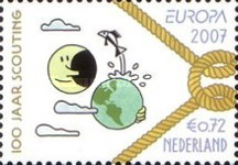 [EUROPA Stamps - The 100th Anniversary of Scouting, Typ BWY]
