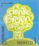 [Green Initiatives - Self Adhesive Stamps, Typ CLH]