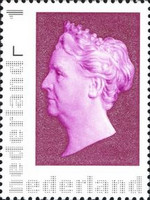 [Stamp Day - Queen Wilhelmina, 1880-1962 - Personalized Stamp Picture, Frame Remains the Same, Typ CLZ]