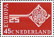 [EUROPA Stamps, Typ TA1]