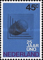 [The 25th Anniversary of the UN, type UM]
