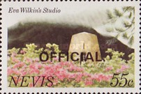 [Local Motifs - Nevis Postage Stamps of 1981 Overprinted