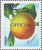 [Fruits - Nevis Postage Stamps of 1998 Overprinted