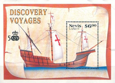 [The 500th Anniversary of Discovery of America by Columbus - History of Exploration, Typ ]