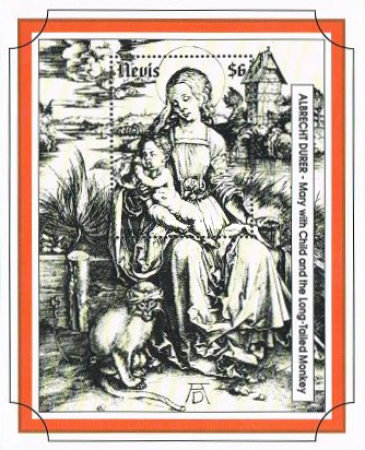 [Christmas - Religious Paintings by Durer, Typ ]