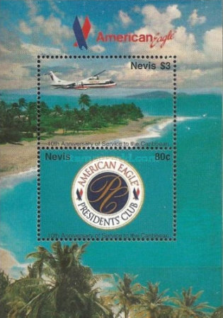 [The 10th Anniversary of American Eagle Air Services to the Caribbean, Typ ]