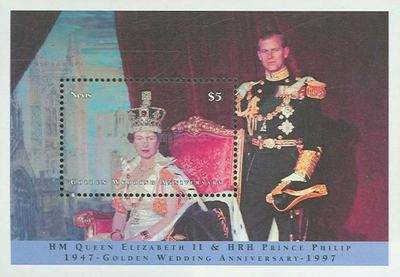 [Golden Wedding of Queen Elizabeth and Prince Philip, Typ ]
