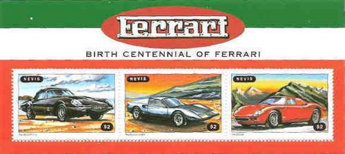 [The 100th Anniversary of the Birth of Enzo Ferrari, Car Manufacturer, Typ ]