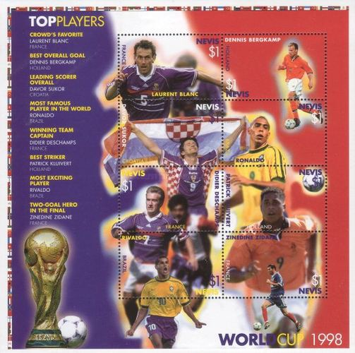 [Leading Players of 1998 Football World Cup - France, type ]