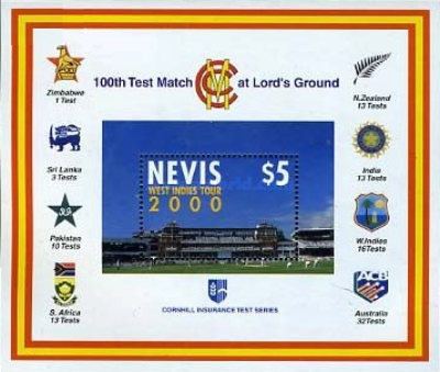 [West Indies Cricket Tour and 100th Test Match at Lord's, Typ ]