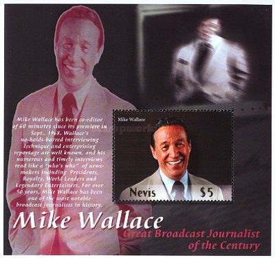 [Mike Wallace, Television Journalist, Typ ]