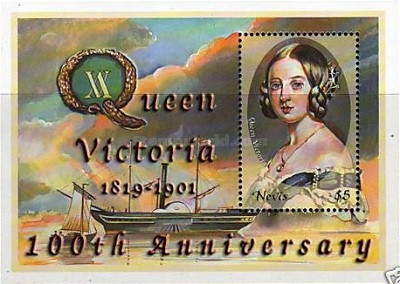[The 100th Anniversary of the Death of Queen Victoria, Typ ]