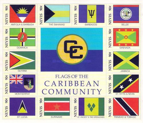 [Flags of the Caribbean Community, Typ ]