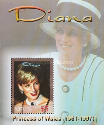 [The 5th Anniversary of the Death of Diana, Princess of Wales, 1961-1997, Typ ]