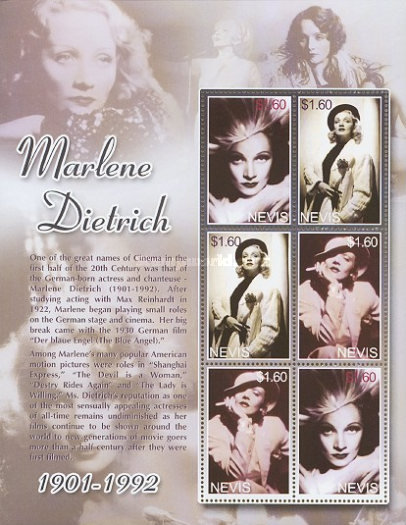 [The 10th Anniversary of the Death of Marlene Dietrich, 1901-1992, Typ ]