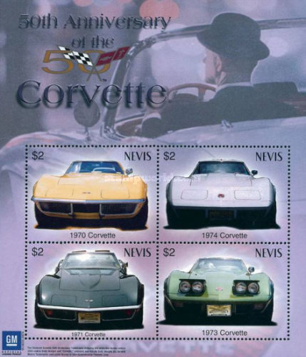 [The 50th Anniversary of General Motors Chevrolet Corvette, Typ ]